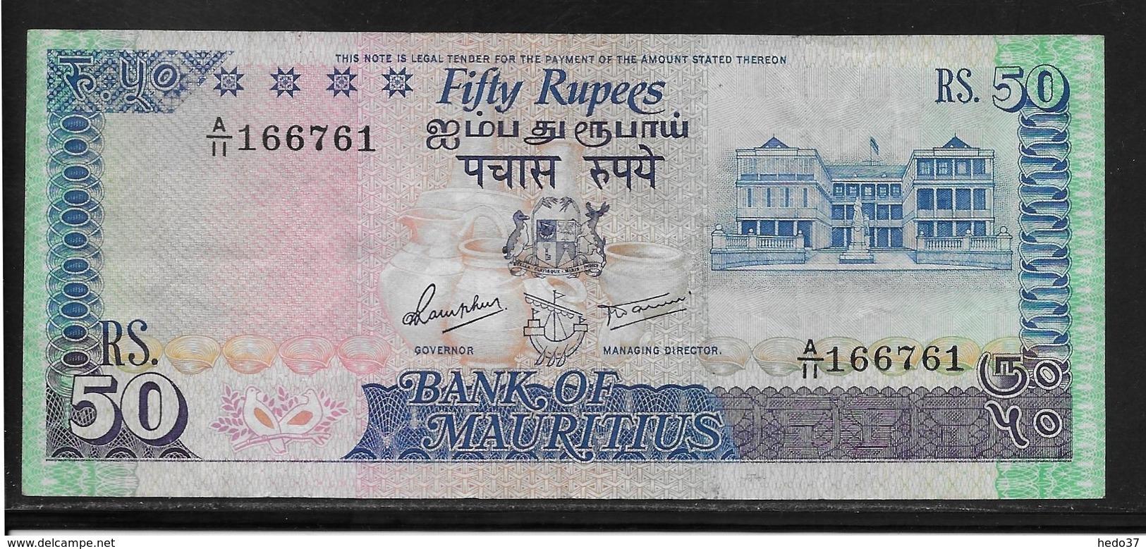 Maurice - 50 Rupees - Pick N°37 - TTB - Maurice