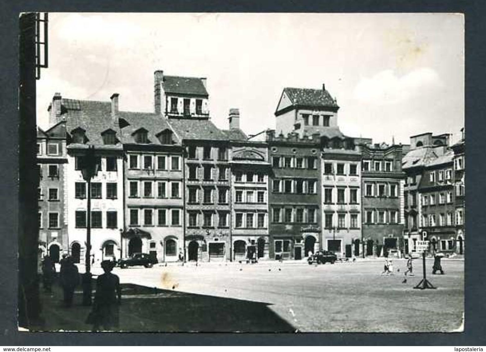 Polonia. Warszawa *Rynek Starego Miasta* Edit. K.A.W. Circulada 1961. - Polonia