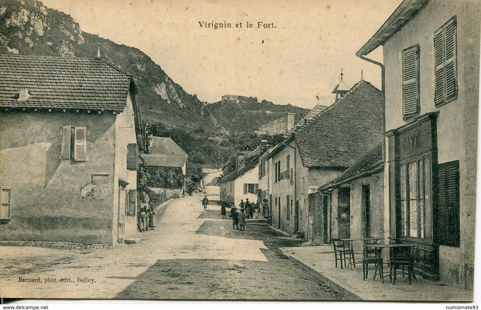 N93 - 01 - Virignin Et Le Fort - Autres Communes