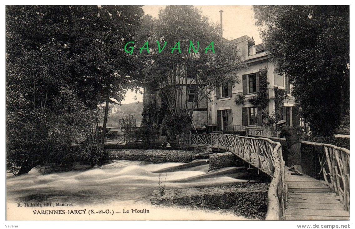 91 VARENNES-JARCY - Le Moulin - Autres Communes