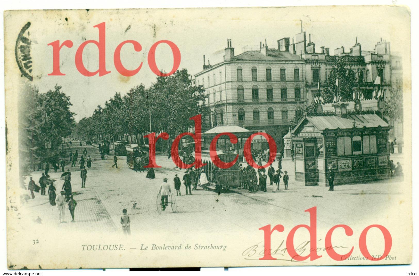 FRANCE TOULOUSE, Le Boulevard De Strasbourg - Toulouse