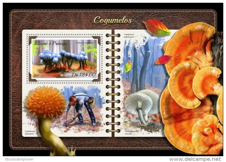 Sao Tome 2018  S201805 Mushrooms - Sao Tome Et Principe