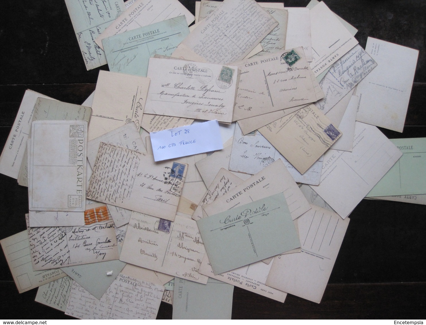 CPA - Carte Postale - Lot De 100 Cartes Postales De France - ( Lot 28 ) - 100 - 499 Cartes
