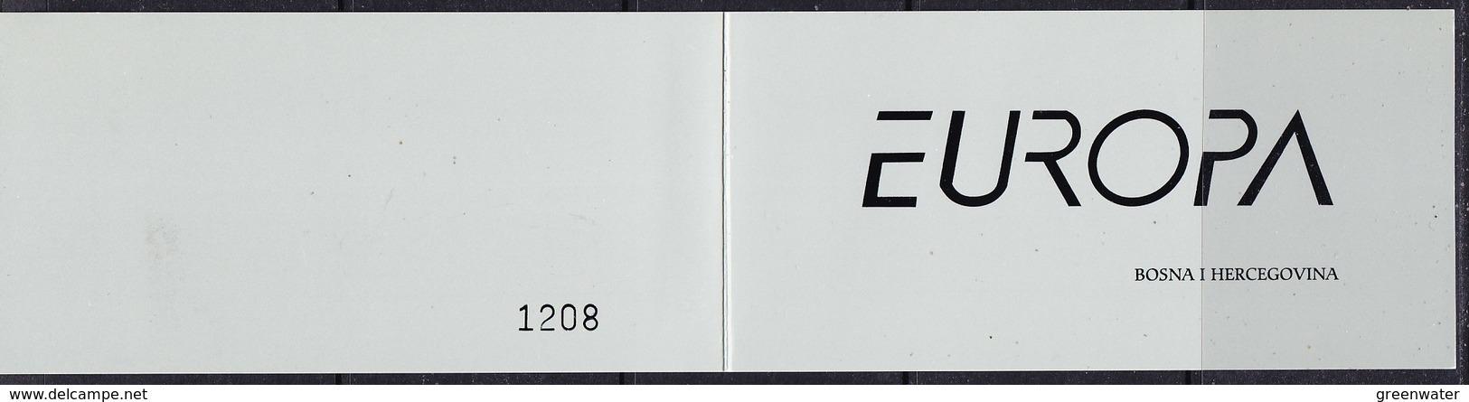 Europa Cept 2006 Bosnia/Herzegovina Mostar Booklet 2x2v  ** Mnh (39190) - 2006
