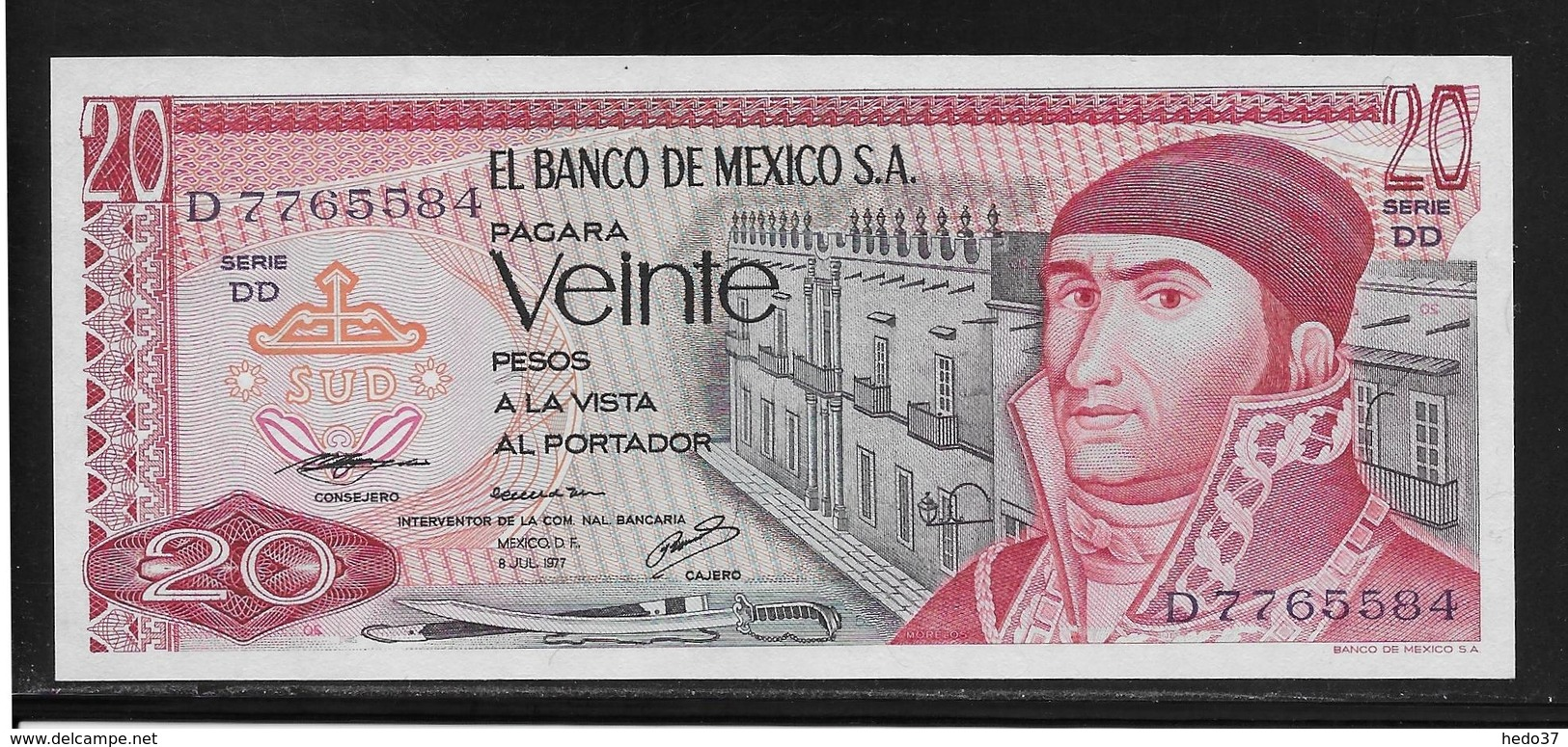 Mexique - 20 Pesos - Pick N°64d - NEUF - Mexico