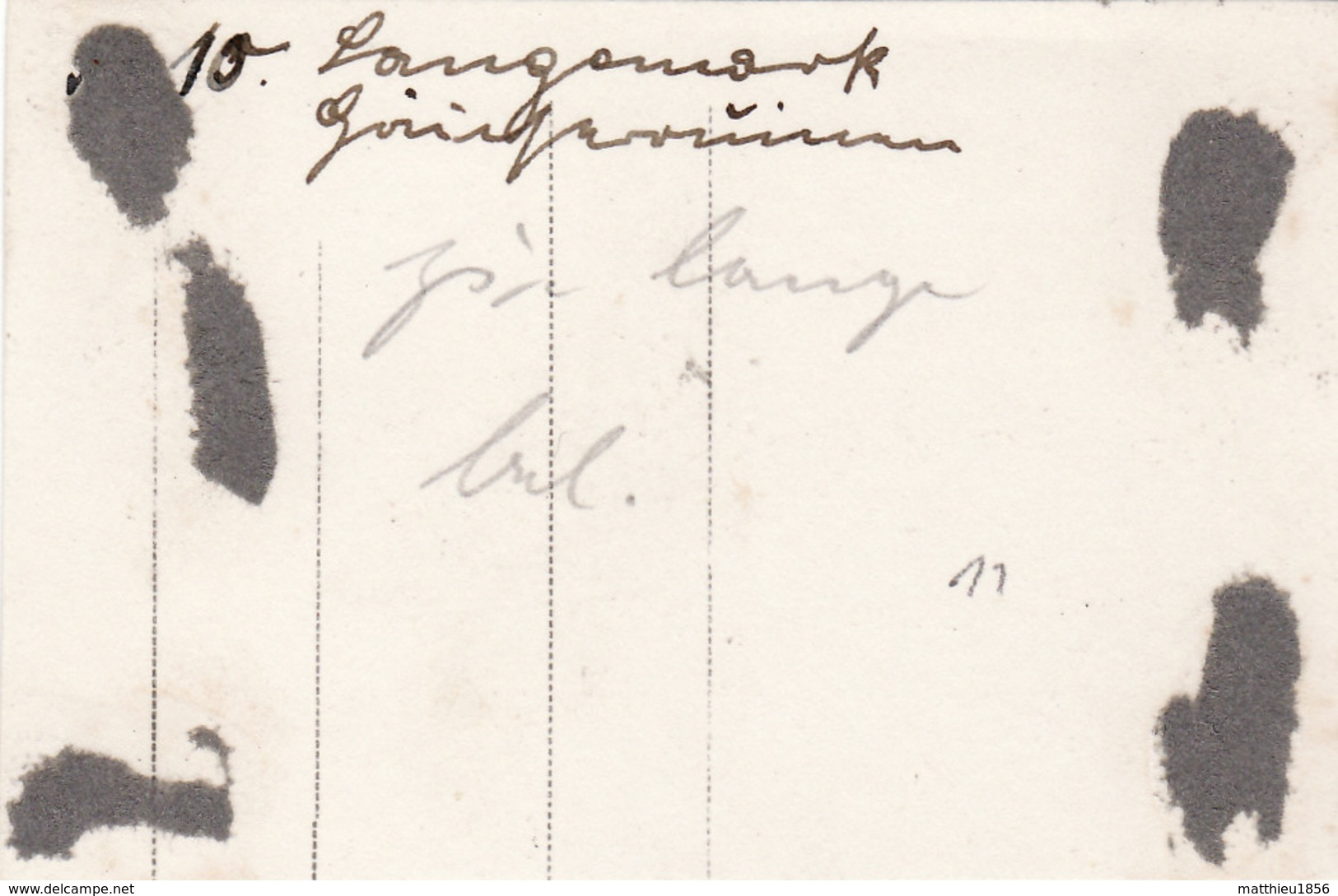 Photo Mai 1915 LANGEMARK (Langemark-Poelkapelle) - Une Vue (A196, Ww1, Wk 1) - Langemark-Poelkapelle