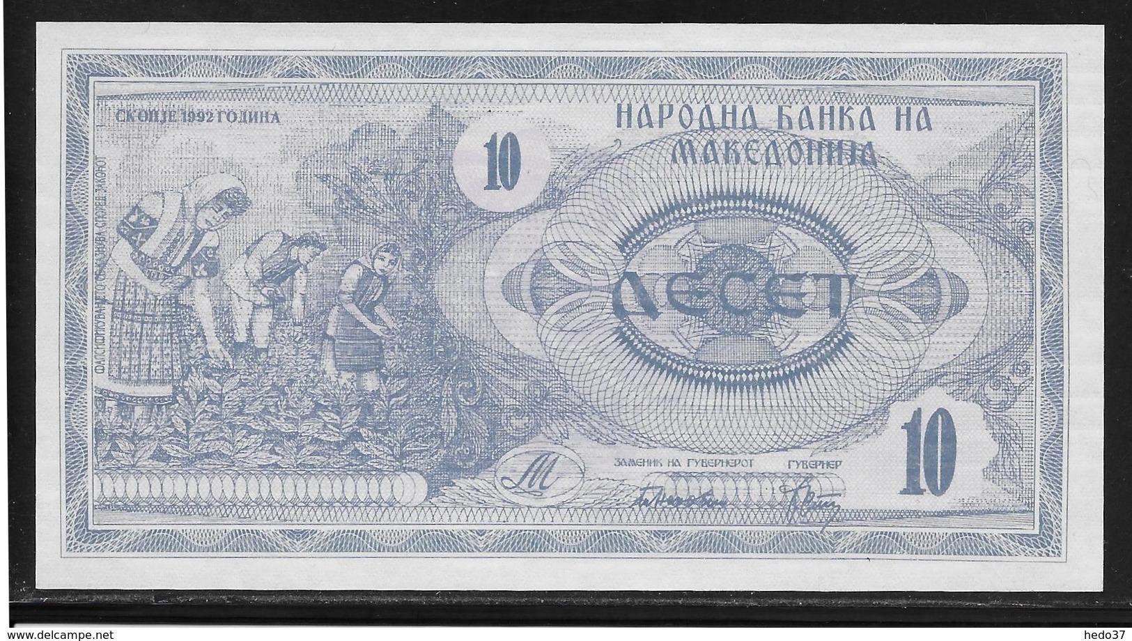 Macédoine - 10 Denar - Pick N°1 - NEUF - Macedonia