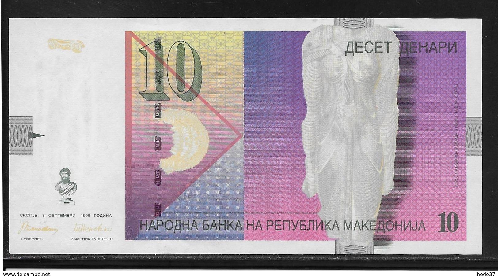 Macédoine - 10 Denari - Pick N°14a - NEUF - Macedonia