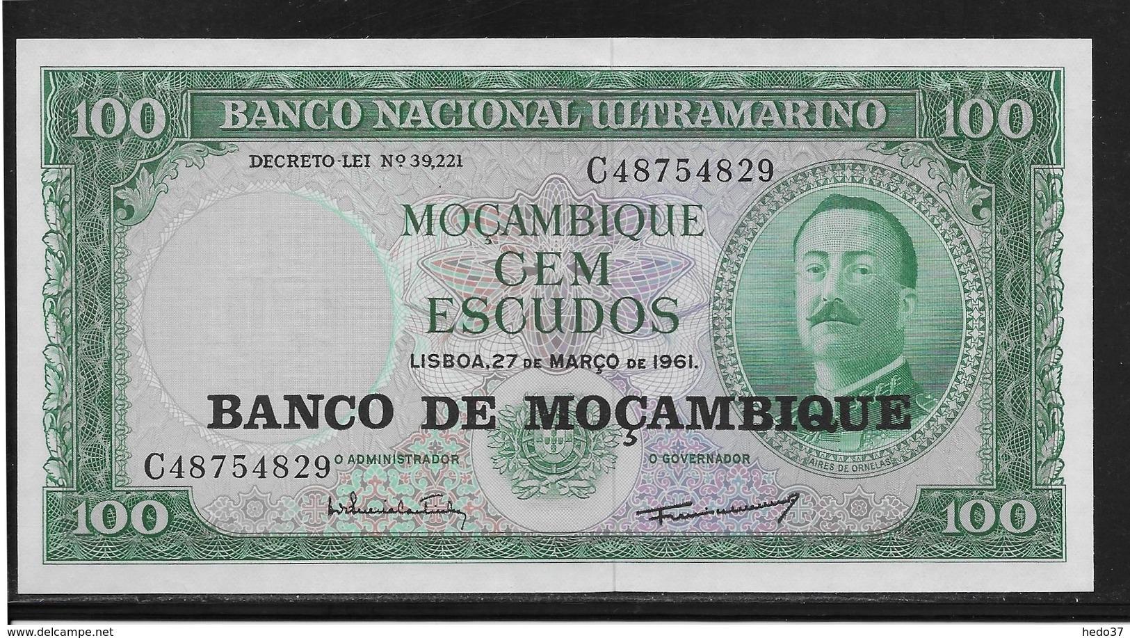 Mozambique - 100 Escudos - Pick N°117 - NEUF - Mozambique
