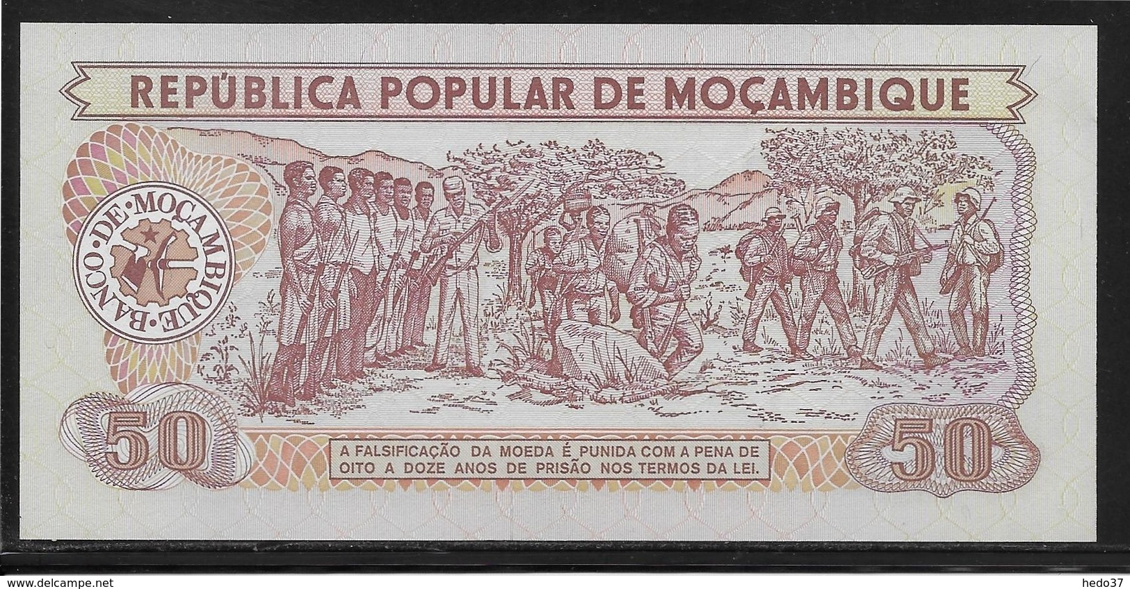 Mozambique - 50 Meticais - Pick N°125 - NEUF - Mozambique