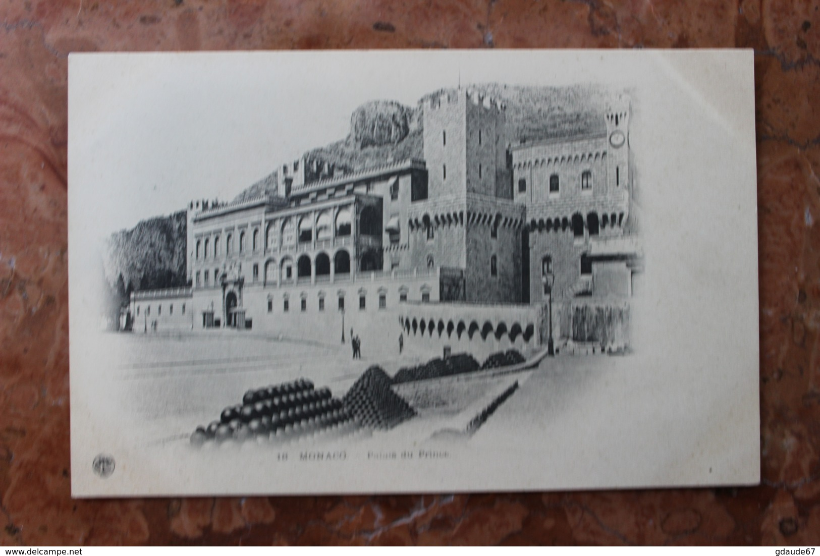 MONACO - PALAIS DU PRINCE - Palais Princier