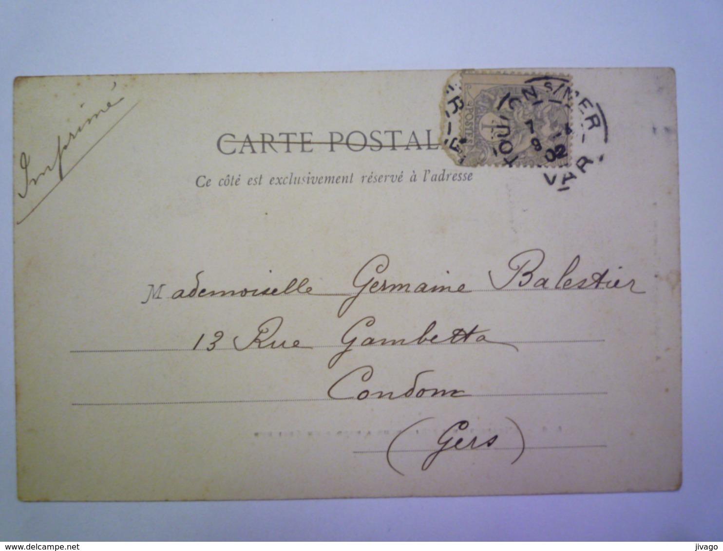L'inspection Du Dimanche à Bord D'un  CROISEUR   1902    - Guerra