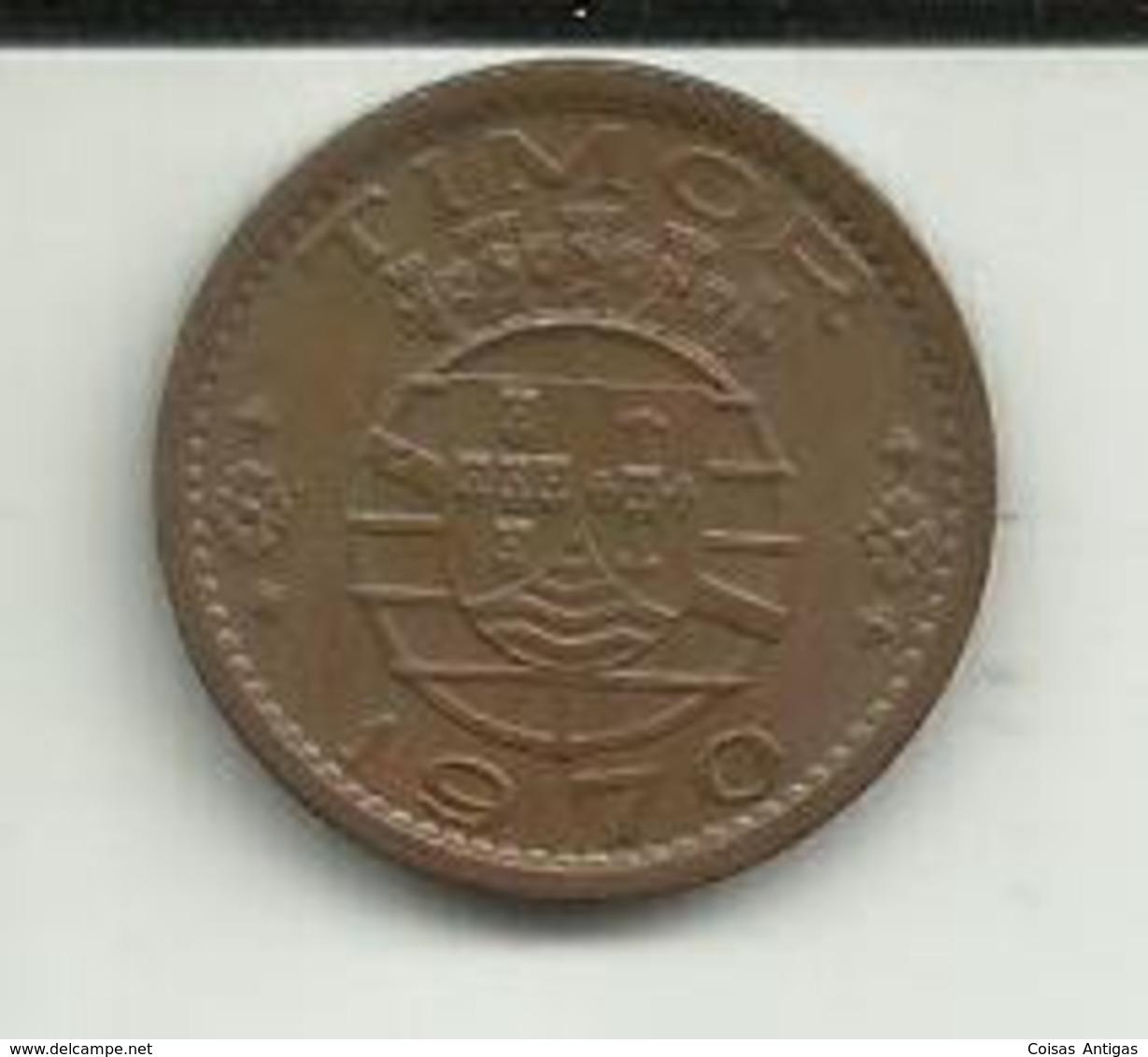 50 Centavos 1970 Timor - Timor