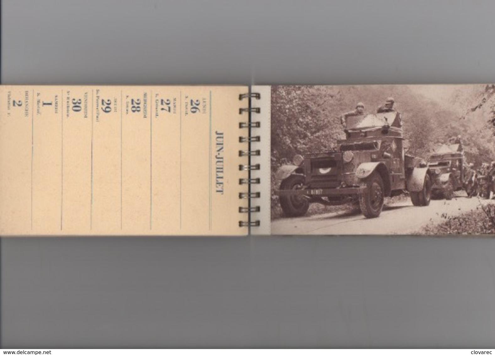 """CALENDRIER   """" BONS VOEUX AUX SOLDATS DE FRANCE"""" 27 CARTES - Calendriers"""