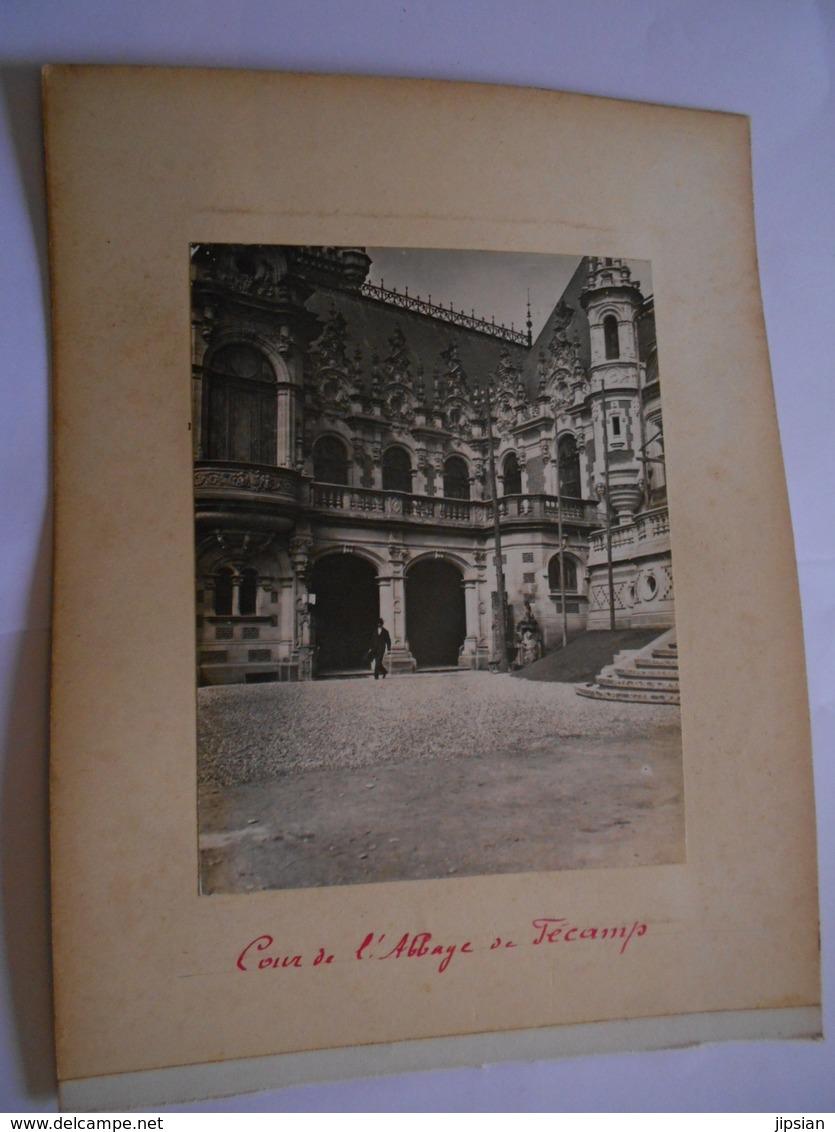 Lot De 3 Photographie Originales Circa 1900 Namur Voiture à Chiens Bruxelles Maneken Pis Fécamp Abbaye FAOUE Photo - Lieux