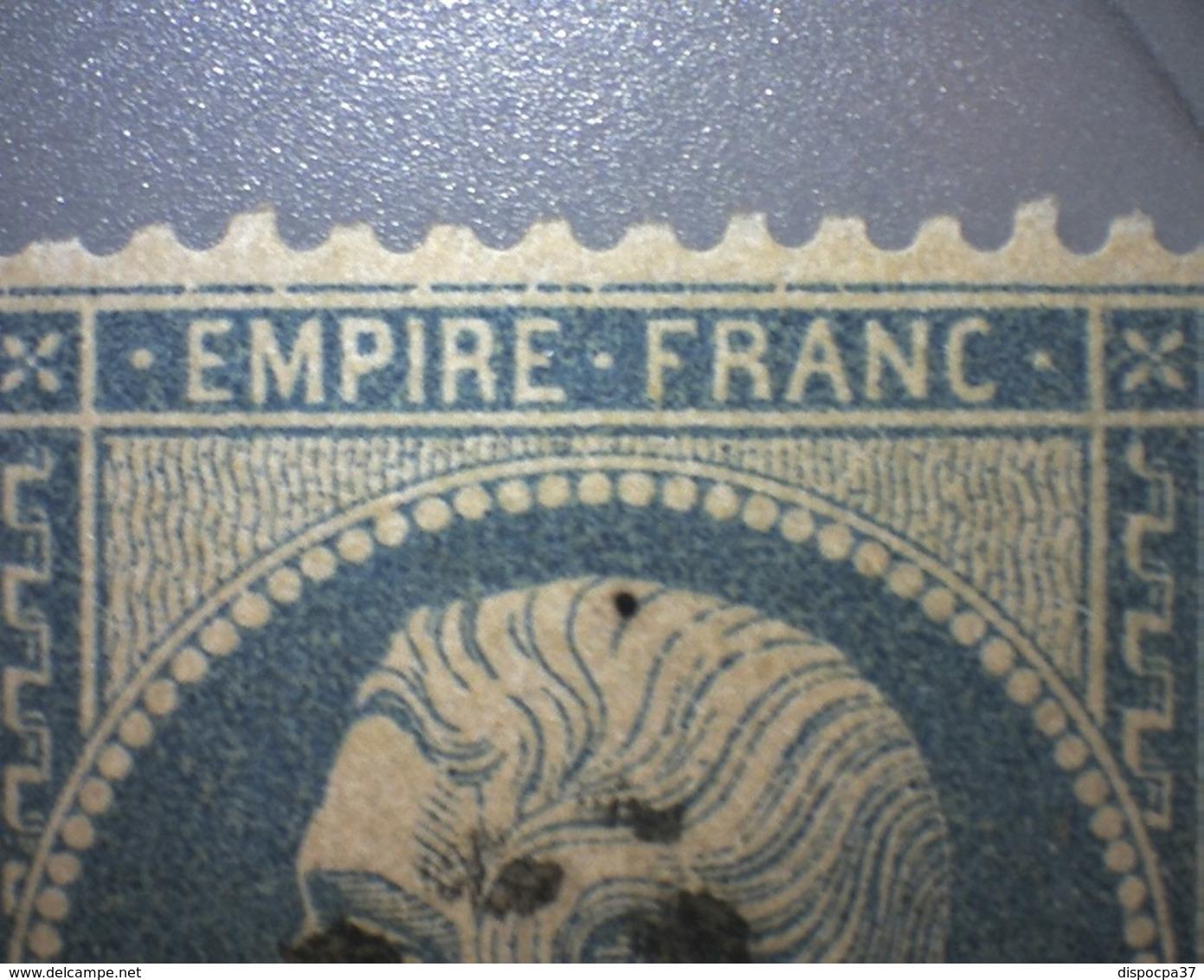NAPOLEON N° 22    GC 164  ARLES -SUR-RHONE  /  BOUCHES DU RHONE  - REF ACDIV + Variété - 1862 Napoleon III