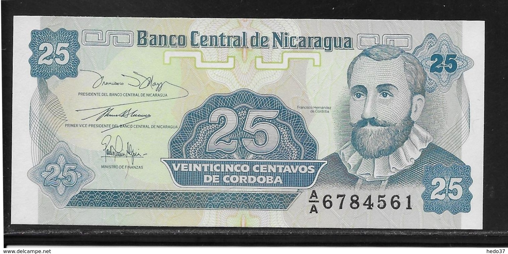 Nicaragua - 25 Centavos - Pick N°170 - NEUF - Nicaragua