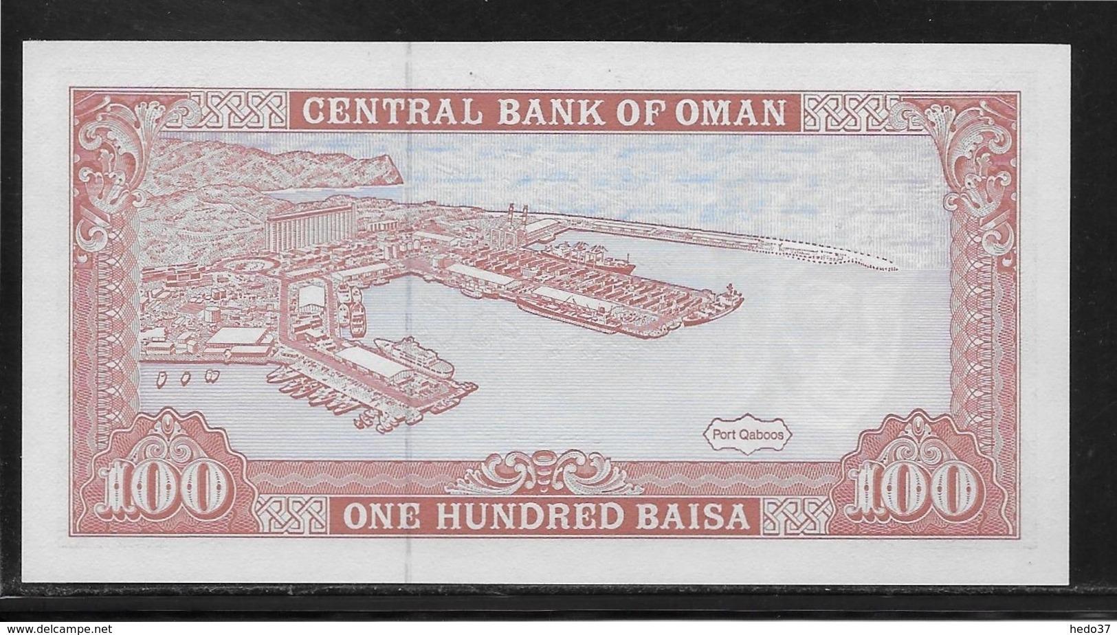 Oman - 100 Baisa - Pick N°22 - NEUF - Oman