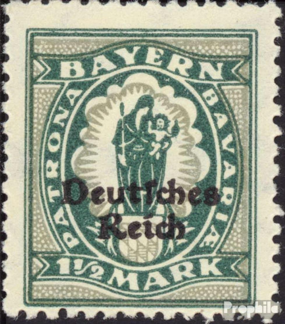 Deutsches Reich 131 Postfrisch 1920 Bayern-Abschied - Nuevos