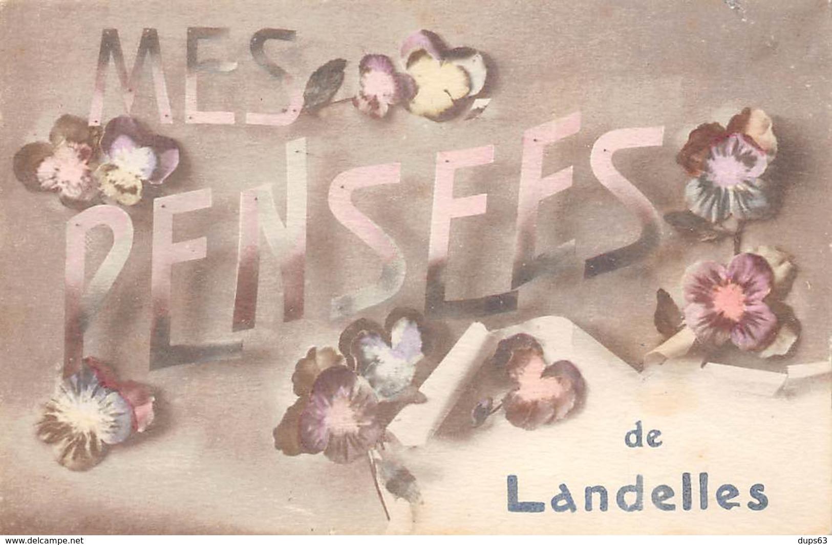 Mes Pensées De LANDELLES - Très Bon état - Other Municipalities