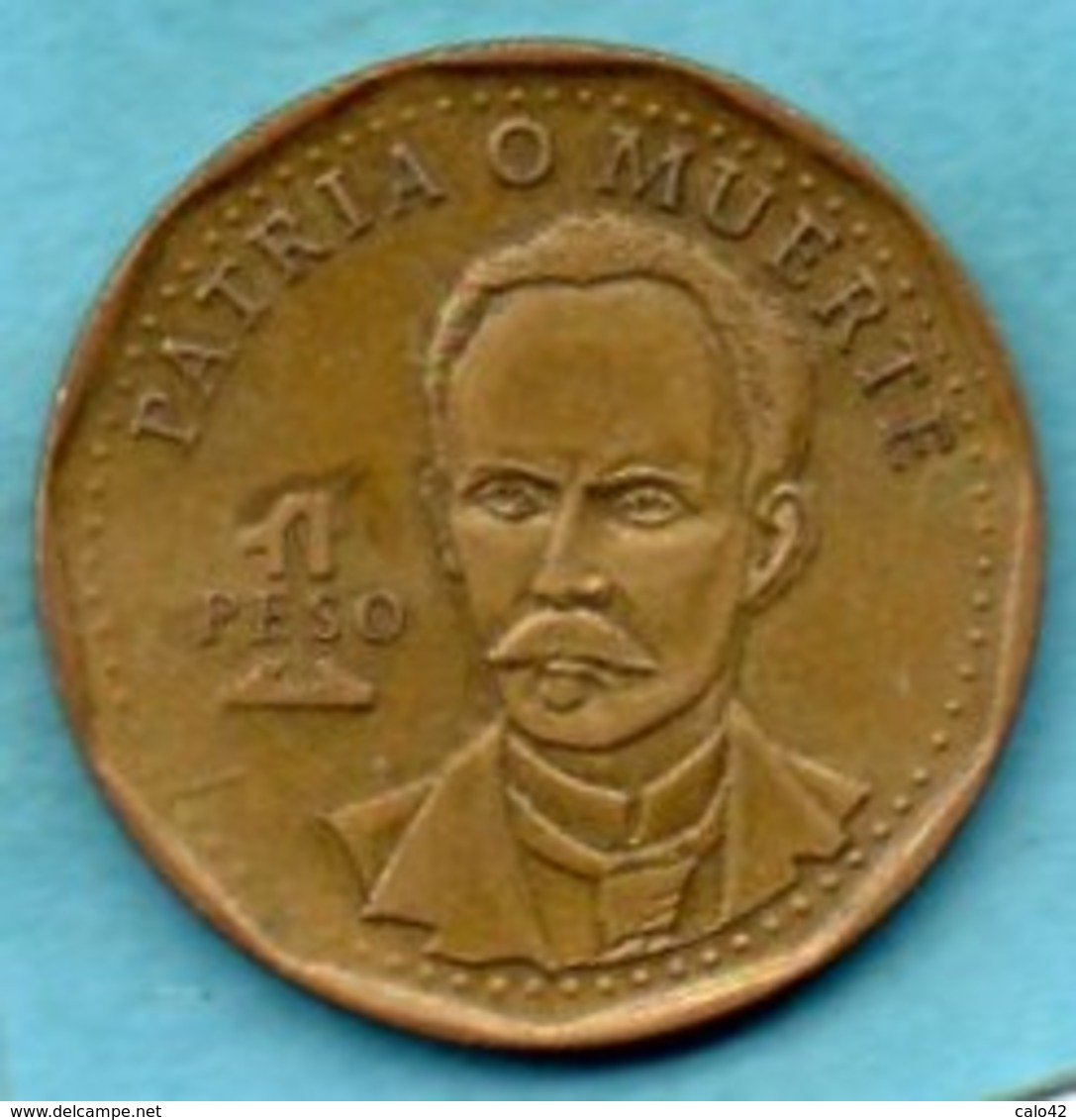 (r65)  CUBA  1 Peso 1992   Km#347 - Cuba