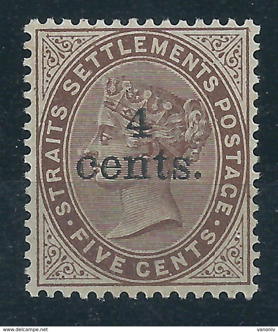 Malaiische Staaten Straits Settlements 76 * - Sellos