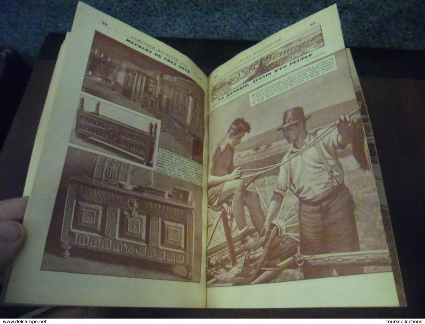 ALMANACH 1943 - ALMANACH HACHETTE - Petite Encyclopédie Populaire De La Vie Pratique - Rare Dans Cet état Période Guerre - Calendriers