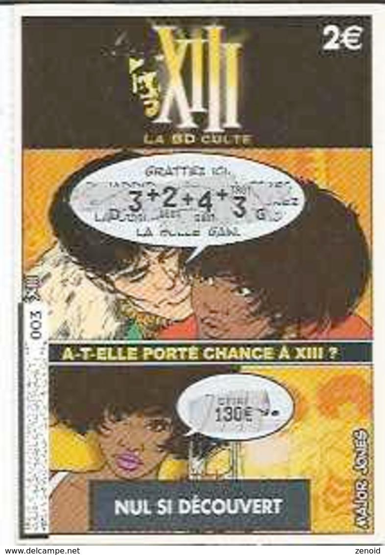 """Ticket FdJ """"XIII - Major Jones"""" - XIII"""