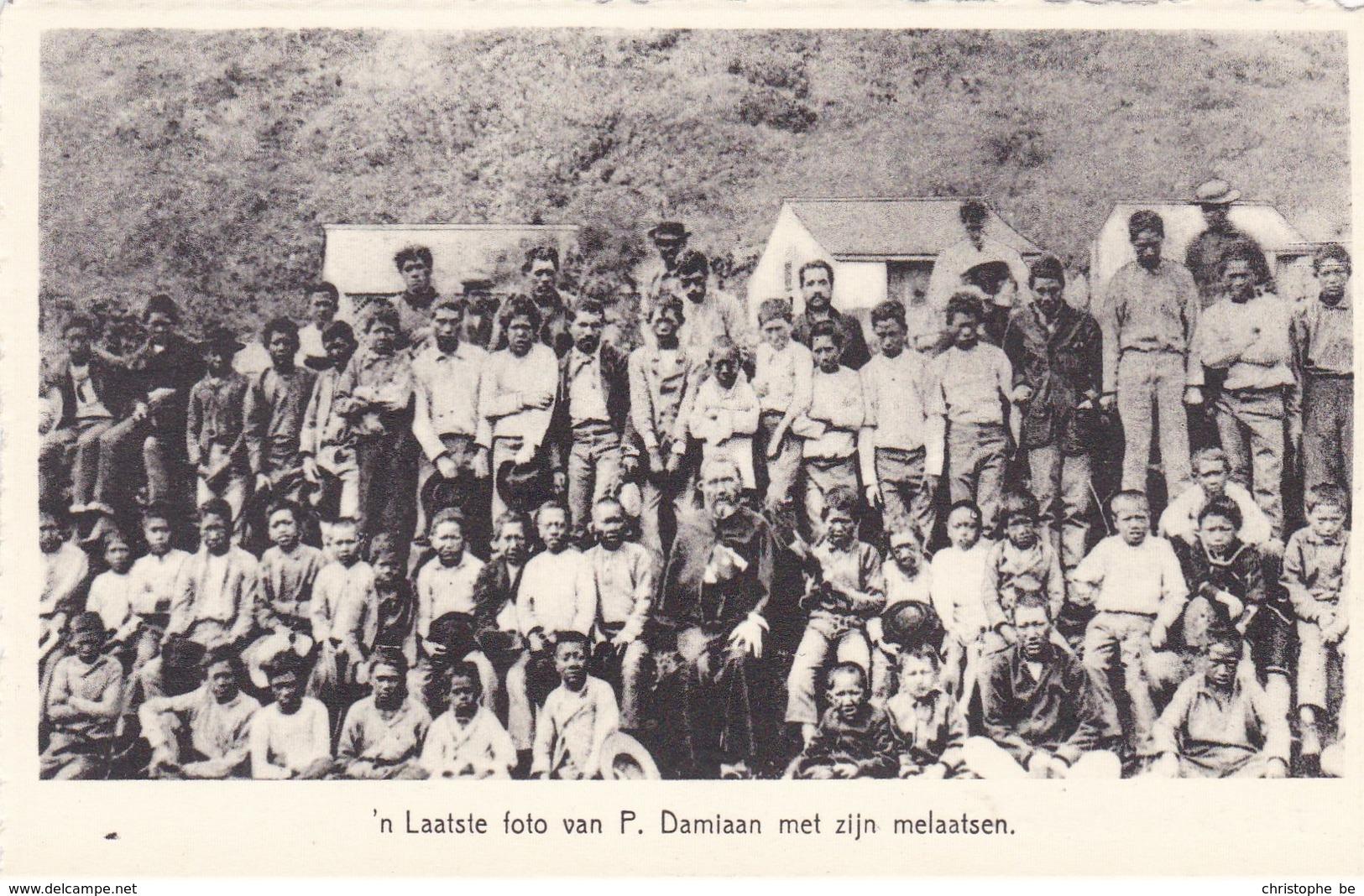 Een Laatste Foto Van Pater Damiaan Met Zijn Melaatsen, Tremelo (pk49008) - Tremelo