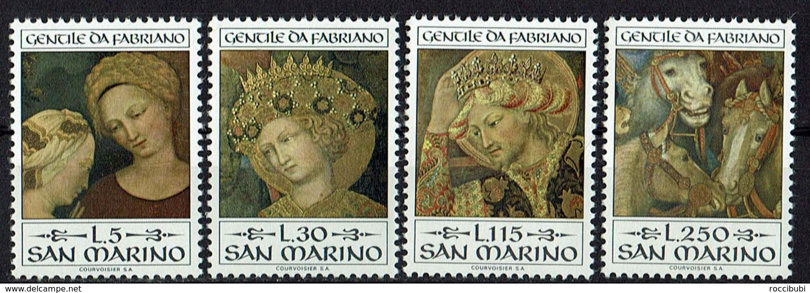San Marino 1973 // Mi. 1055/1058 ** (024..531) - Ungebraucht