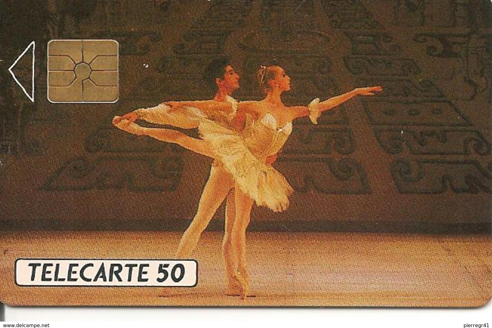 CARTEµ-PUBLICC-MONACO-50U-MF 08--GEM A-Série C-BALLETS De MONTE CARLO--UTILISE-TBE - Monaco
