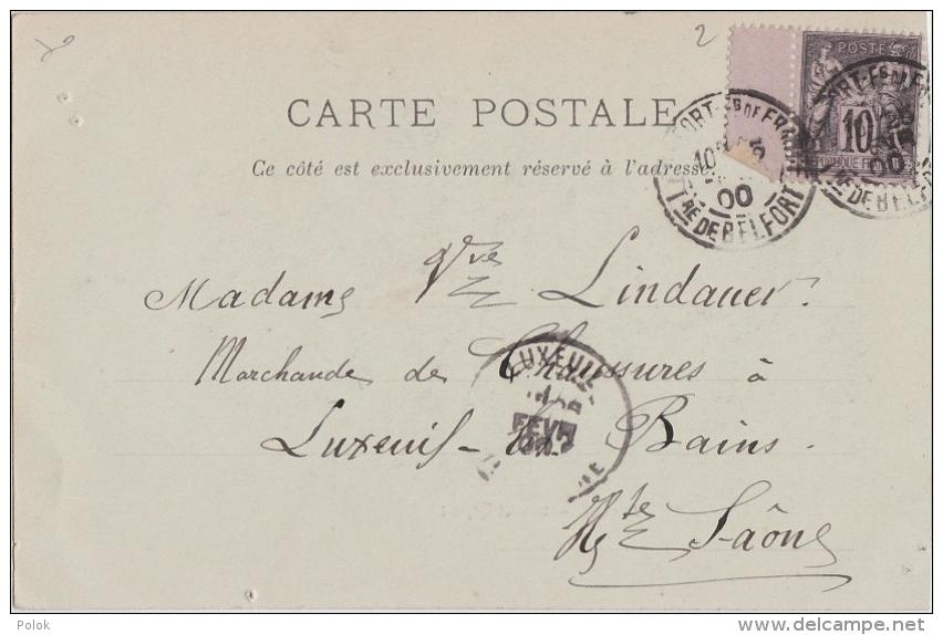 Bp - Cpa LUXEUIL - Nouvel Hôpital (1900) - Luxeuil Les Bains
