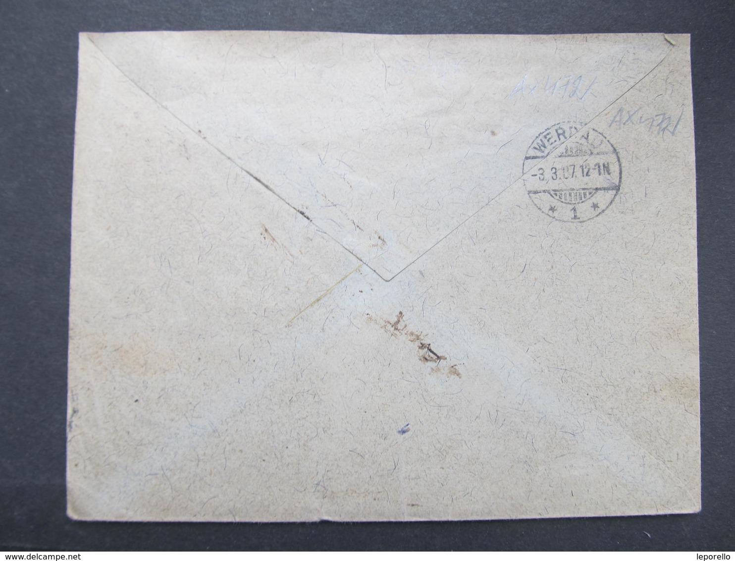 GANZSACHE Wien - Werdau Noe Stross 1907 Privatganzsache  ////  D*32817 - Briefe U. Dokumente