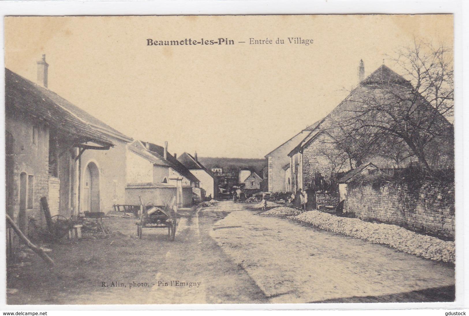 Haute-Saône - Beaumotte-les-Pin - Entrée Du Village - Other Municipalities