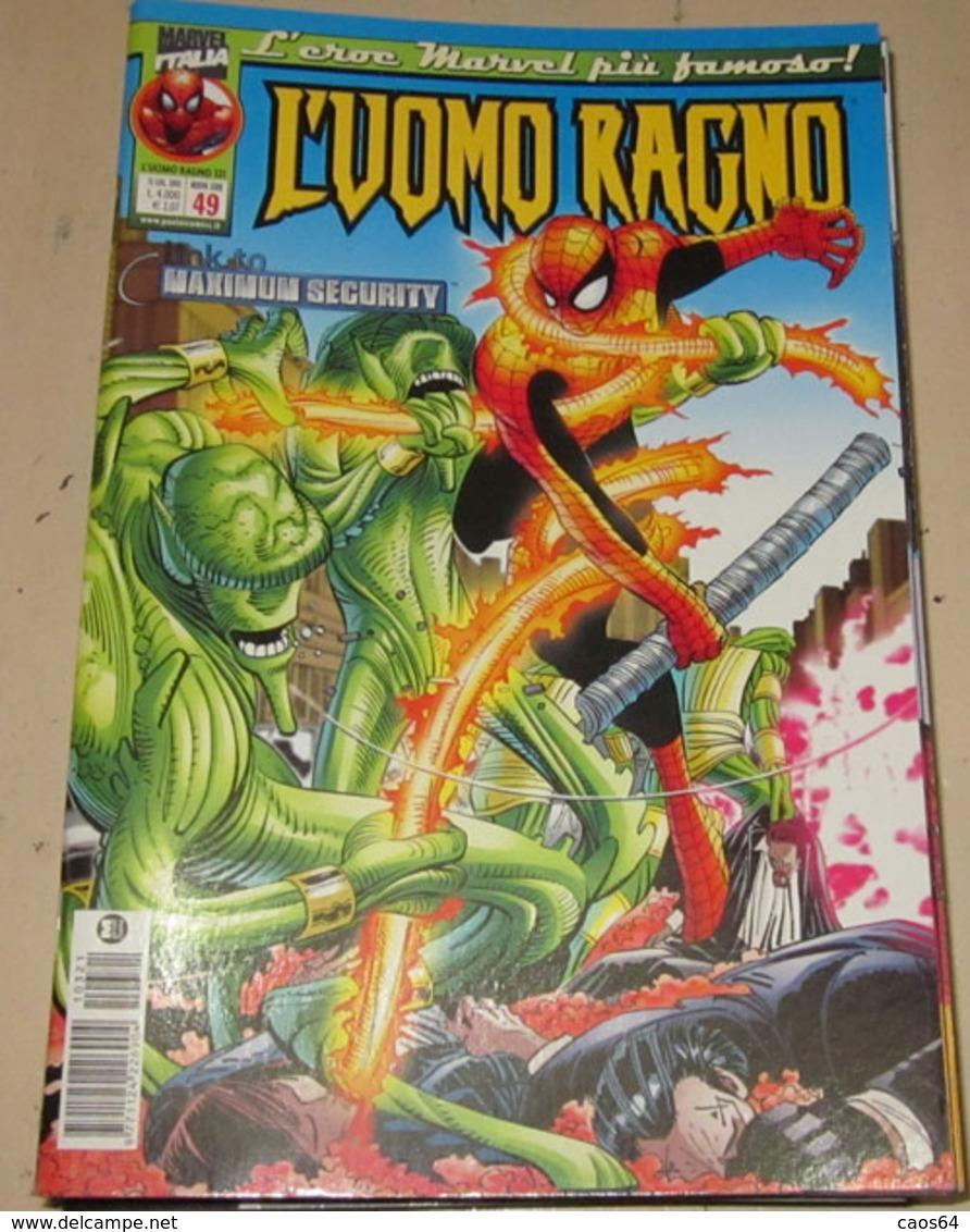 L`UOMO RAGNO 321 N. 49 - Spider-Man