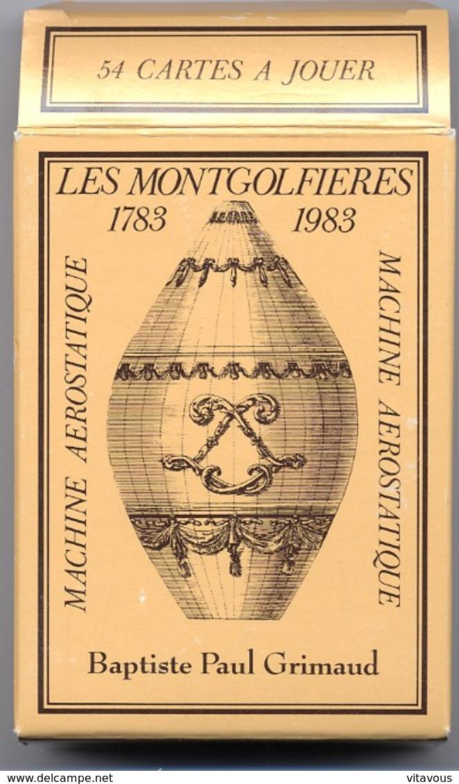 2 Jeux De 54 Cartes Montgolfieres - The  Montgolfiers - 54 Cartes