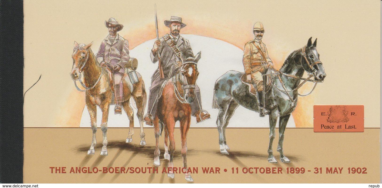 Carnet Prestige 2002 Centenaire De La 2ème Guerre Anglo-Boers C1094a - Carnets