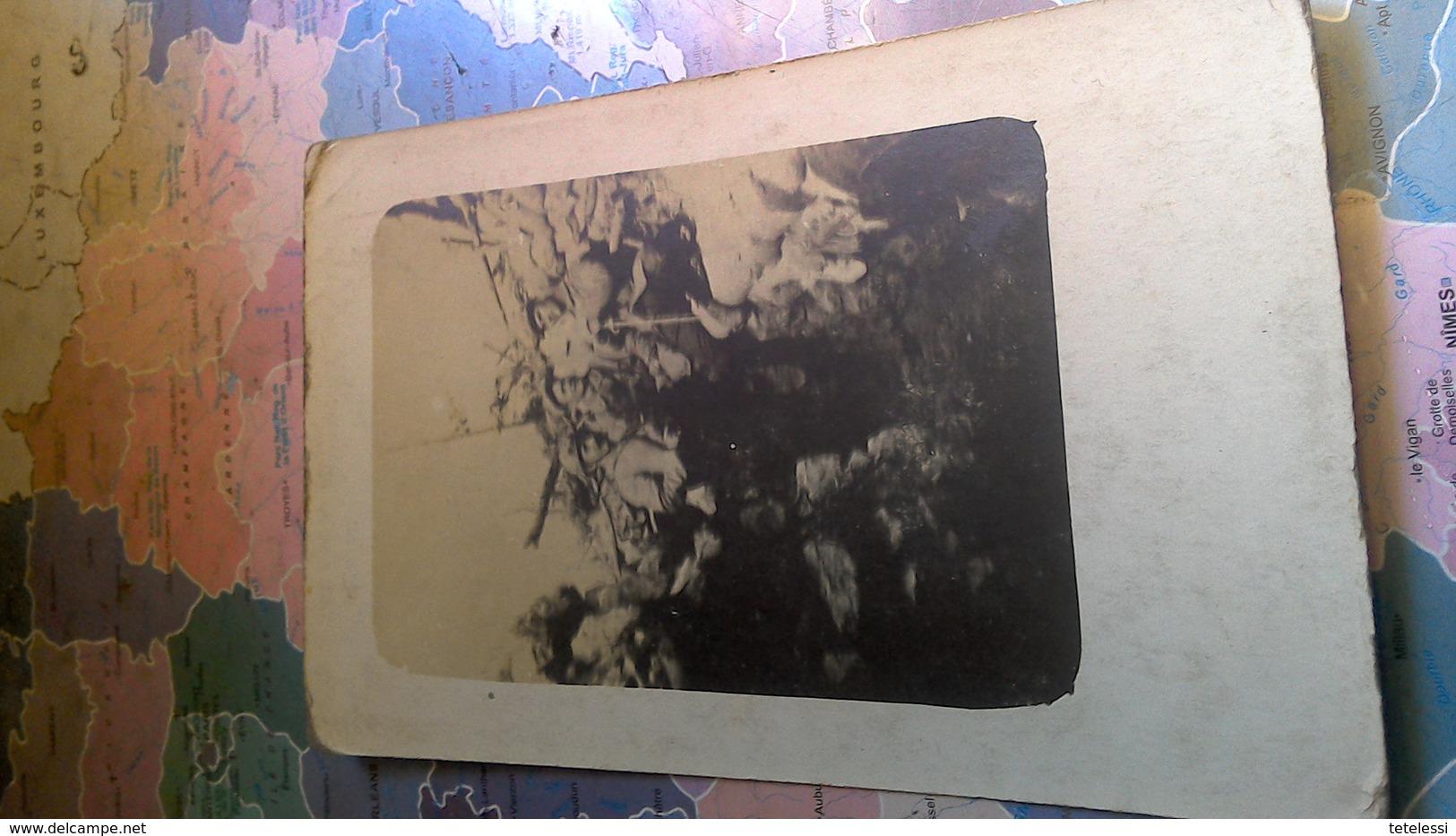 Cpa Photo Dans. Le T Au Four De Paris Argonne 3bretons - Guerre 1914-18