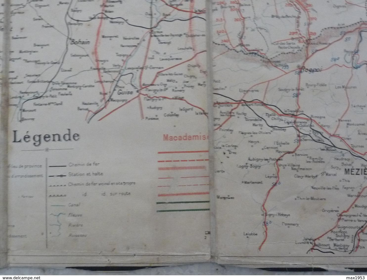 CARTE VELOCIPEDIQUE DE LA BELGIQUE - 1899 - Toilée - Guides Et Plans Castaigne - Cartes Routières