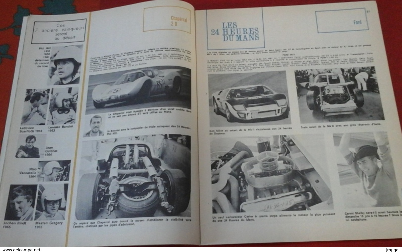 "Sport Auto N°53 Juin 1966 Spécial Le Mans,Targa Florio,Rallye De Lorraine, Ghia ""Vallelunga"",Formule 1 Monaco Beltoise - Auto/Motor"