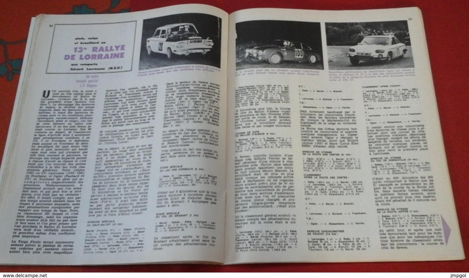 "Sport Auto N°53 Juin 1966 Spécial Le Mans,Targa Florio,Rallye De Lorraine, Ghia ""Vallelunga"",Formule 1 Monaco Beltoise - Auto/Moto"