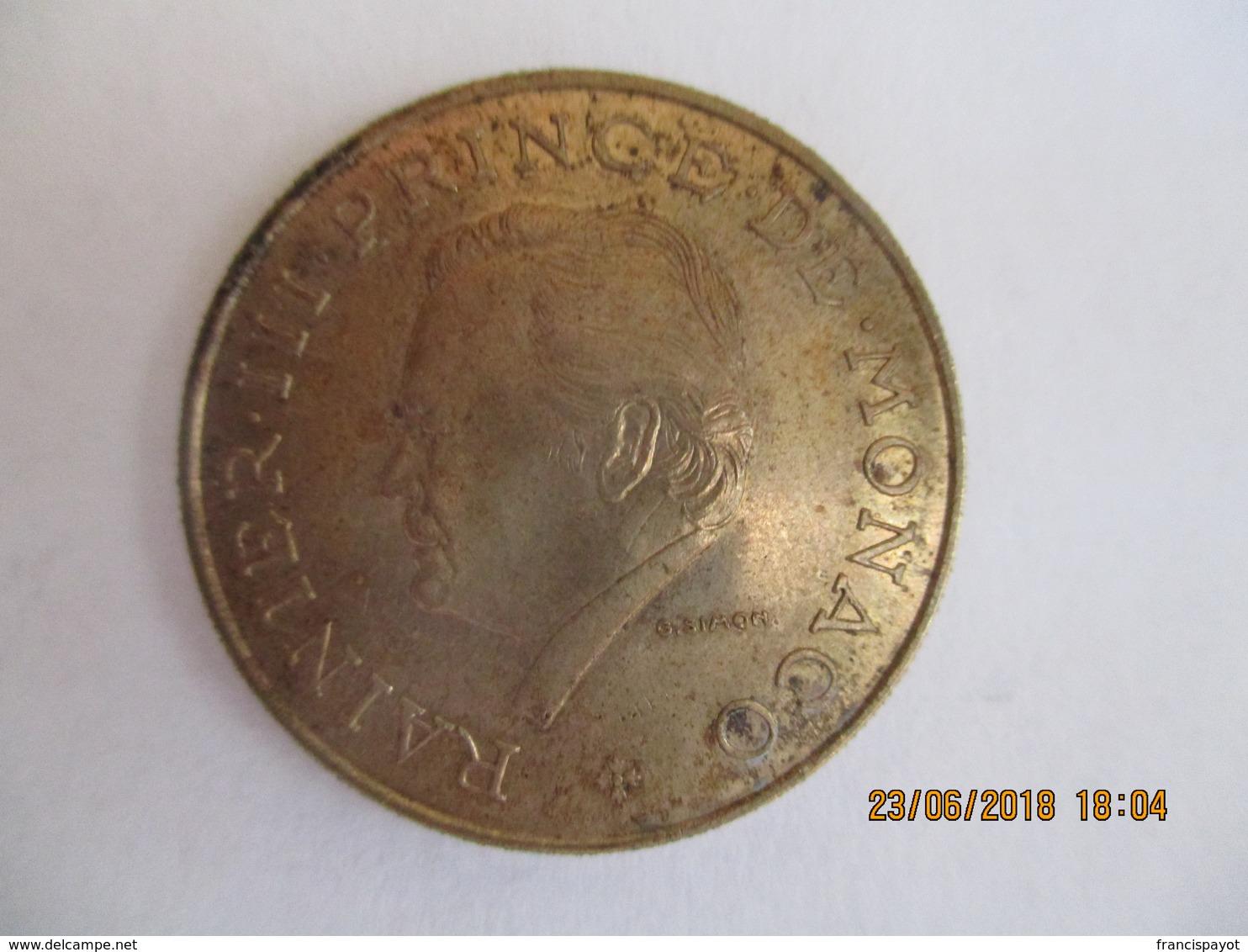 Monaco: 10 Francs 1979 - Monaco