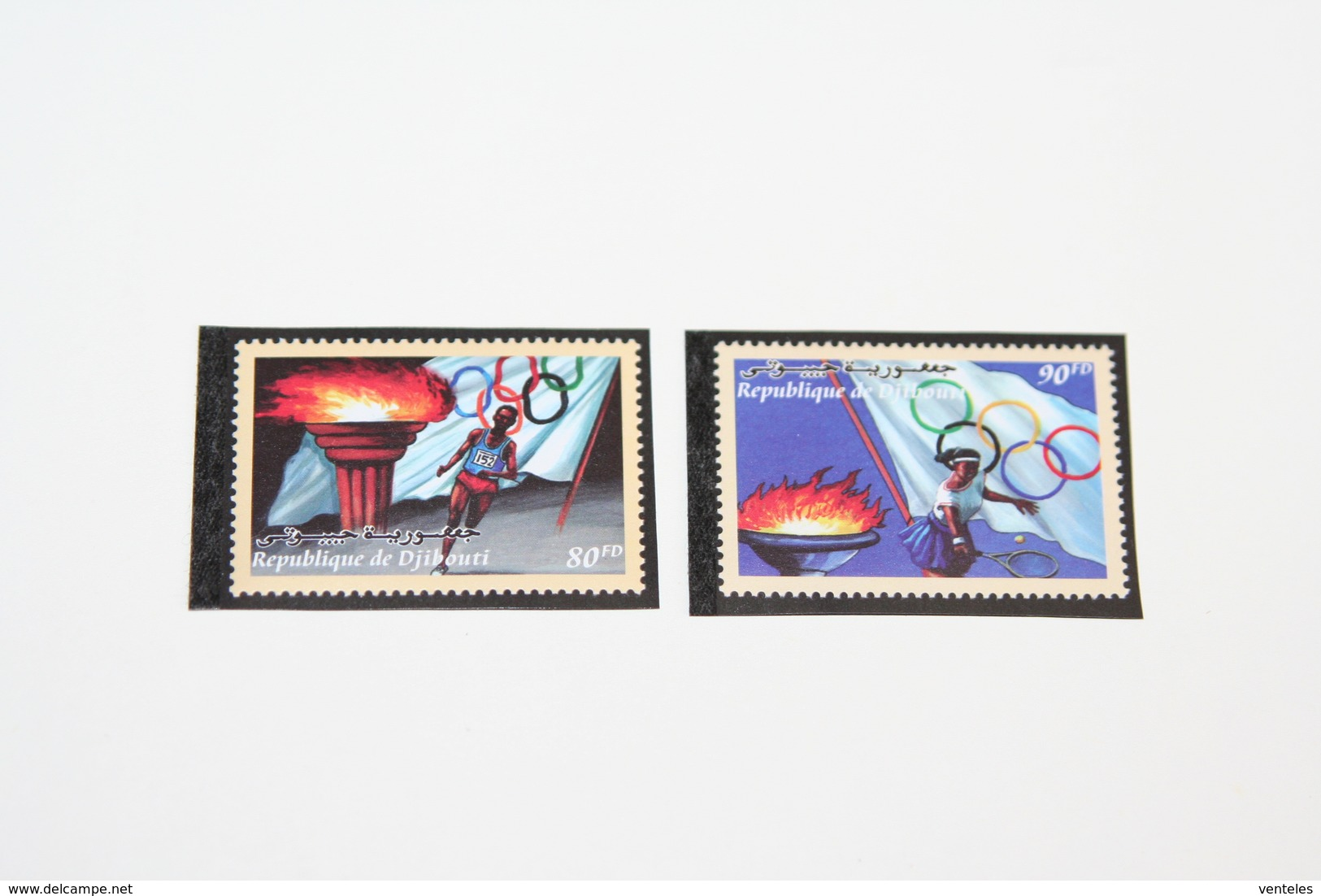 Djibouti 2000 Mi # 773-74 Sydney Summer Olympics MNH OG - Verano 2000: Sydney