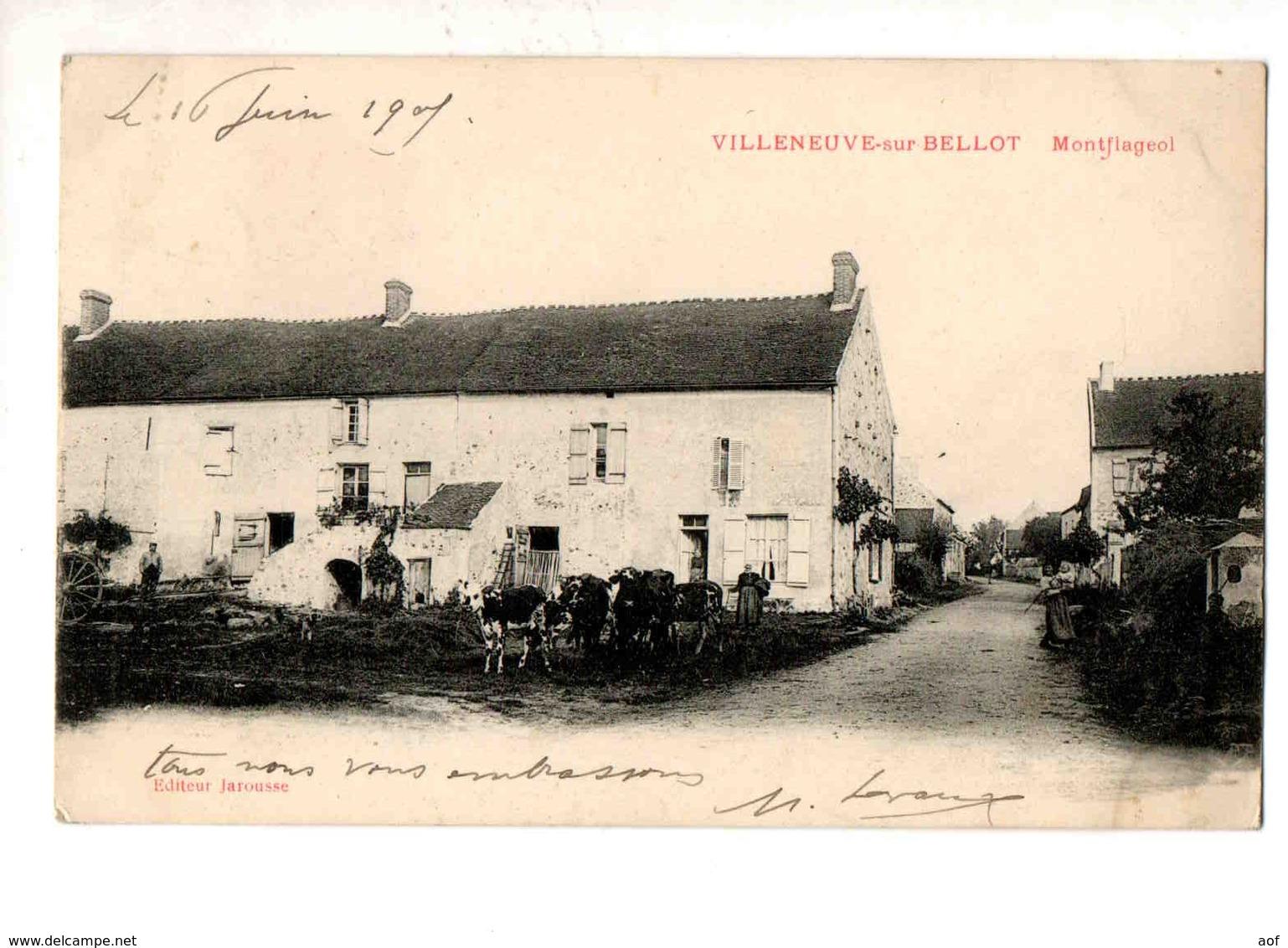 VILLENEUVE-sur-BELLOT Moulin - France
