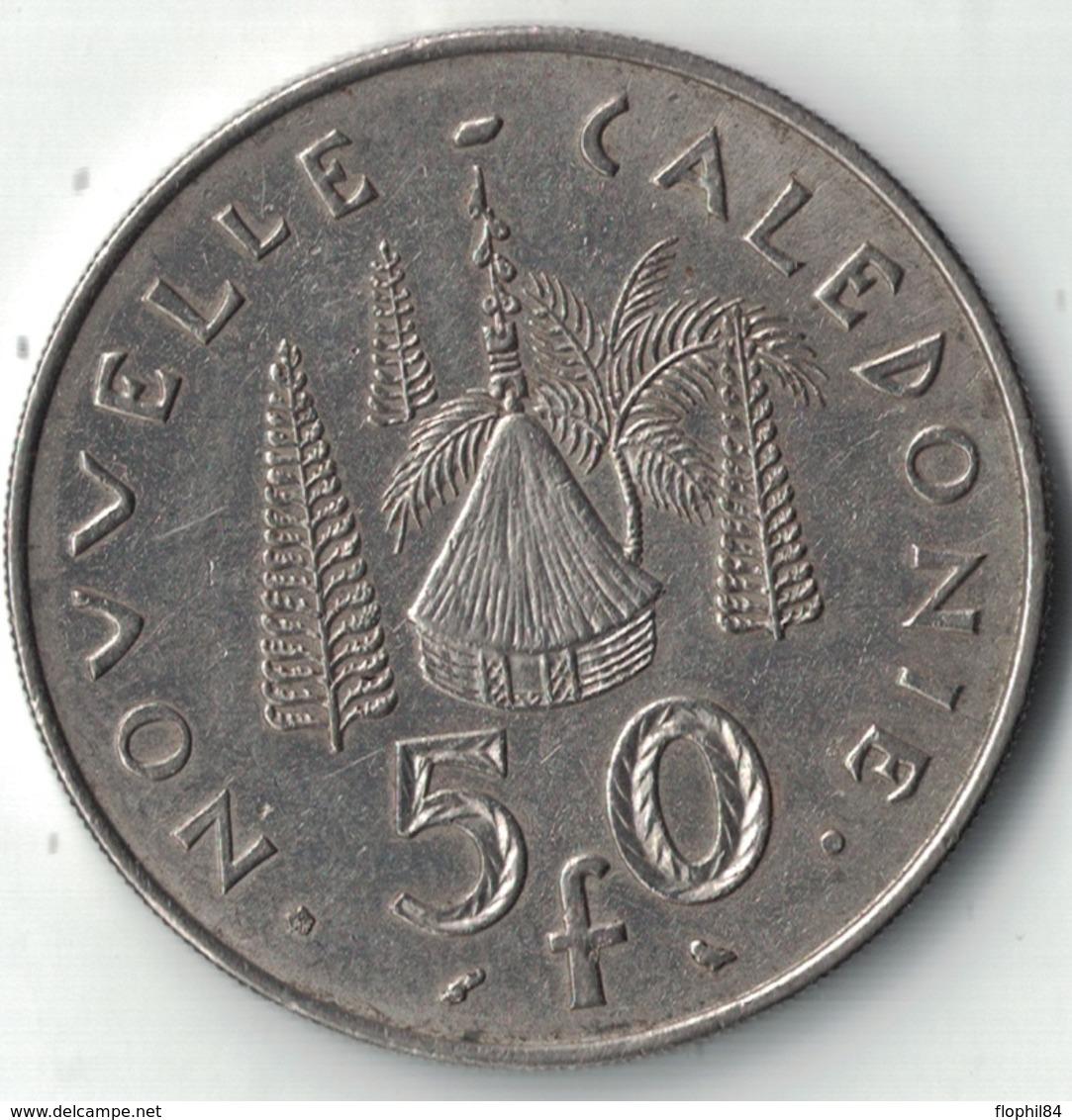 NOUVELLE CALEDONIE - 50F DE 1967. - New Caledonia