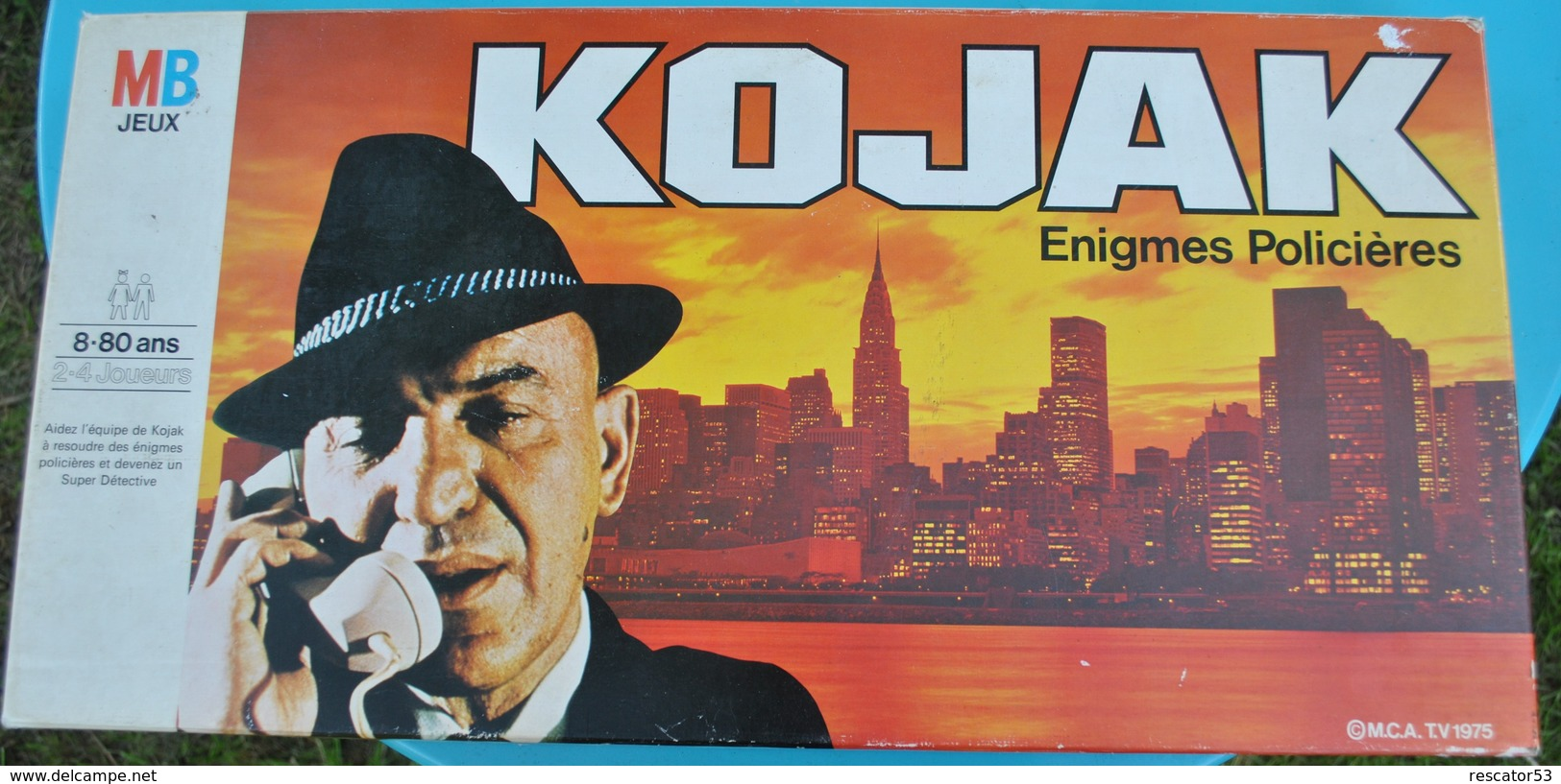 Rare  Jeux De Société KOJAK 1976 - Jeux De Société