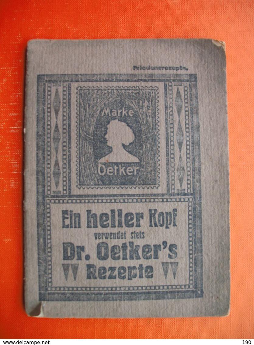 """Dr.Oetker""""s Rezepte - Livres, BD, Revues"""