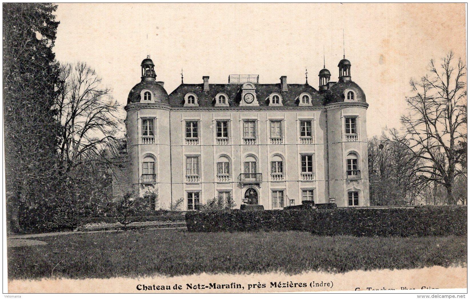 V15249 Cpa 36 Château De Notz Marafin, Près Mézières - Frankreich