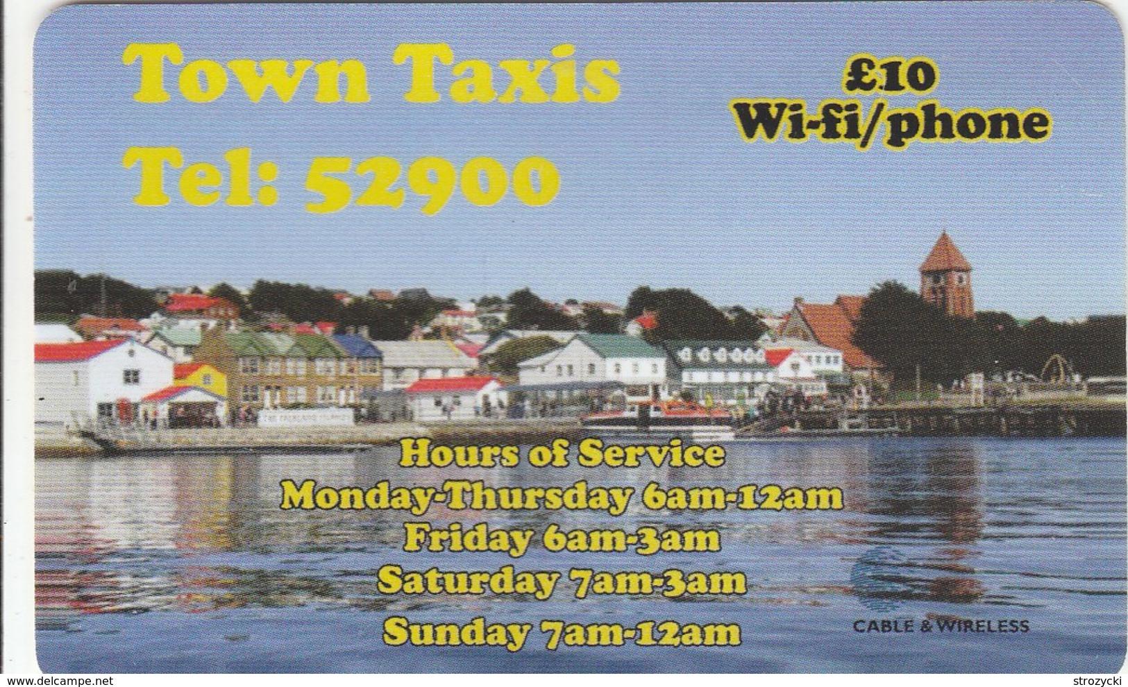 Falkland Islands - Town Taxis - Falkland Islands
