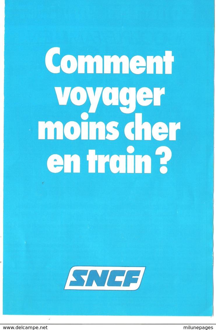 Guide Pratique Du Voyageur En Train SNCF 1982 + Tarifs 1982 + Calendrier Et Carte De Réduction - Sports & Tourisme